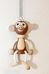 Závěsná hračka - Opice - 1