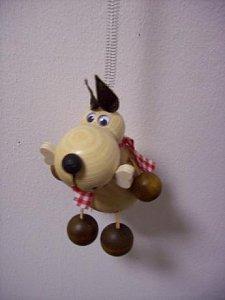 Závěsná hračka - Pes světlý - 1