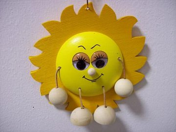 Závěsná hračka - Slunce - 1