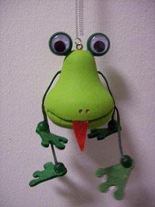 Závěsná hračka - Žabák - 1