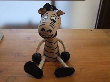 Zebra na pružině - 1