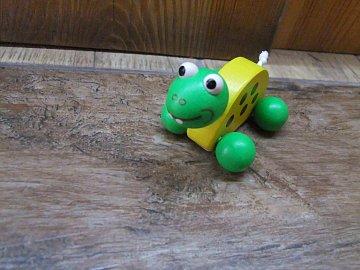 Želva na kolečkách - 1